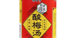 康师傅 酸梅汤 罐装 312ml* 6罐