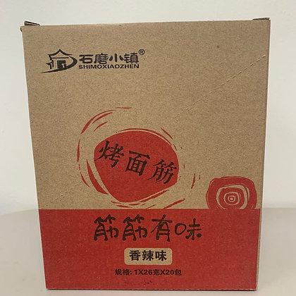 石磨小镇 筋筋有味 烤面筋 香辣味(20包)