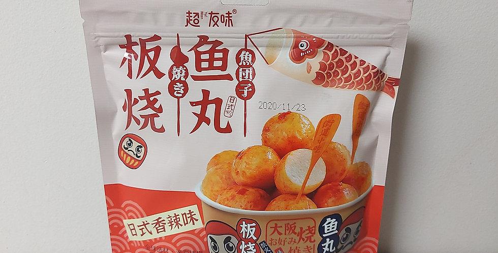 超友味 板烧鱼丸 日式香辣味 90g