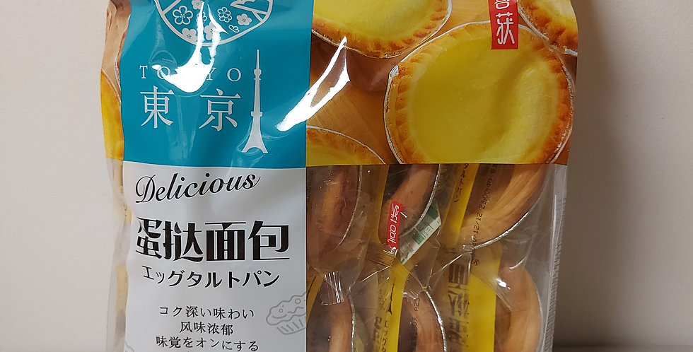 喜获 东京蛋挞面包 320g