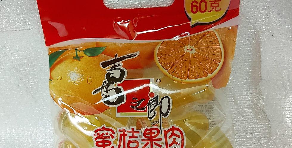 喜之郎 蜜桔果肉果冻 240g