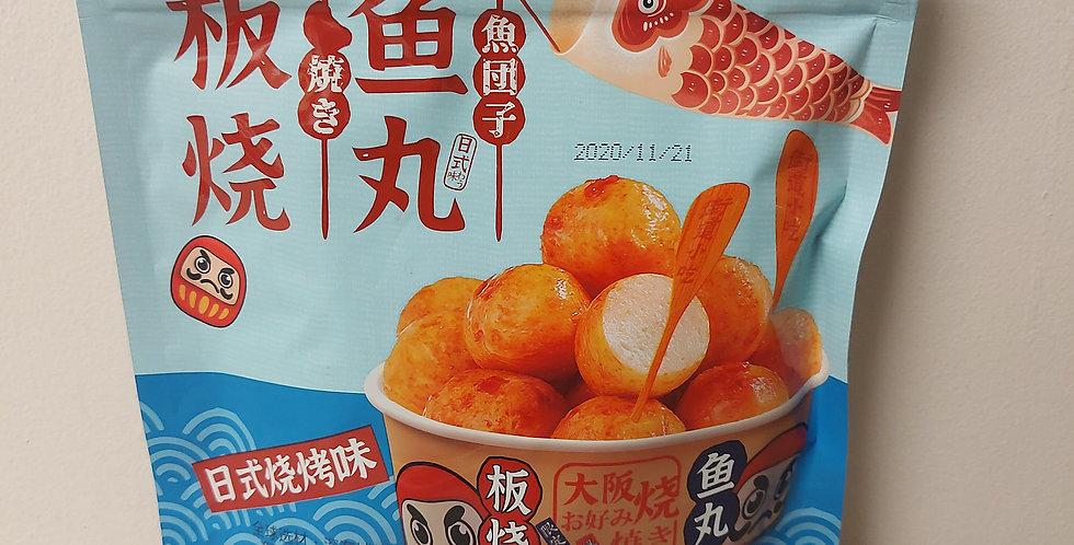 超友味 板烧鱼丸 日式烧烤味 90g