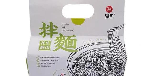 易包拌面 花生酱香 6包入 630g
