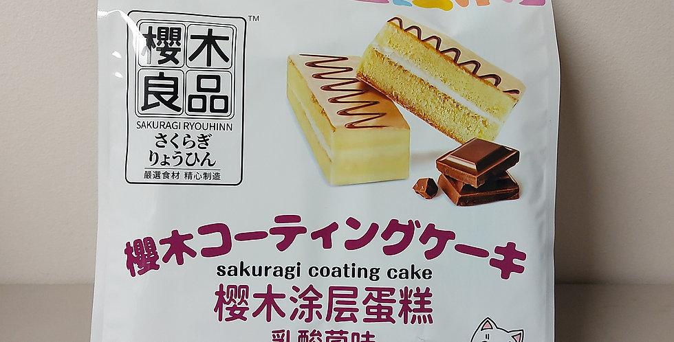 樱木良品 涂层蛋糕 乳酸菌味 224g