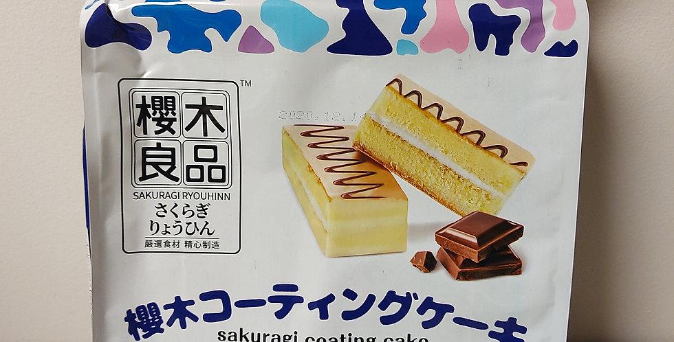 樱木良品 涂层蛋糕 北海道牛奶风味 224g