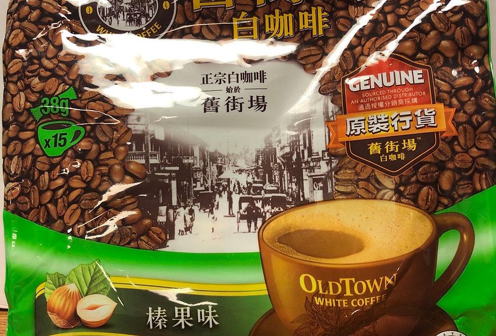 旧街场 正宗白咖啡 榛果味 38g*15条