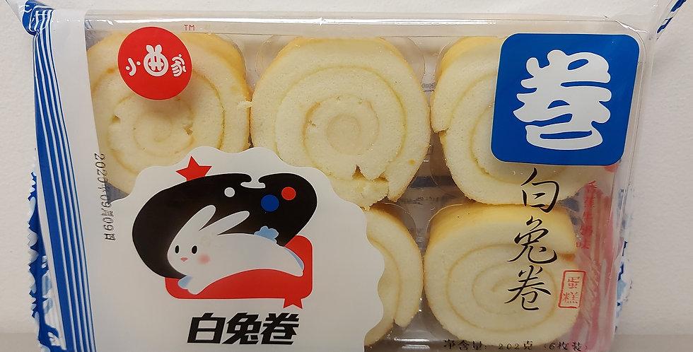 小曲家 白兔卷 香蕉牛奶味 202g