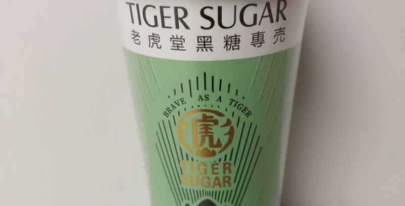 老虎堂 黑糖桃胶 奶茶 123g