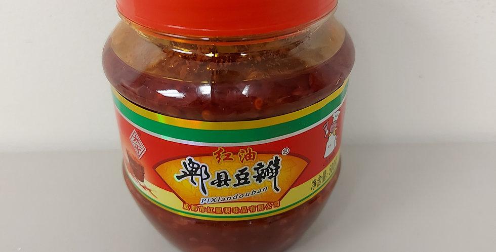 红油 郫县豆瓣酱 500g