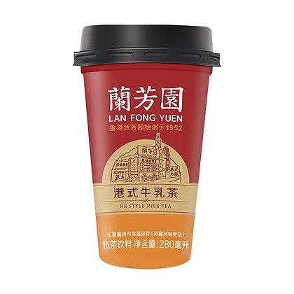 香港兰芳园港式牛乳茶 280ml