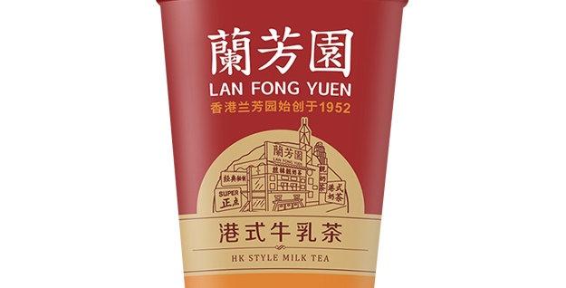 兰芳园 港式牛乳茶 280ml