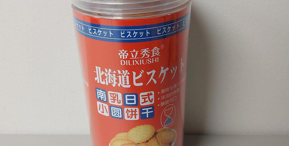 北海道 日式小圆饼干 南乳味  228g