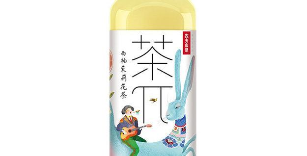 茶π  西柚茉莉花茶 500ml