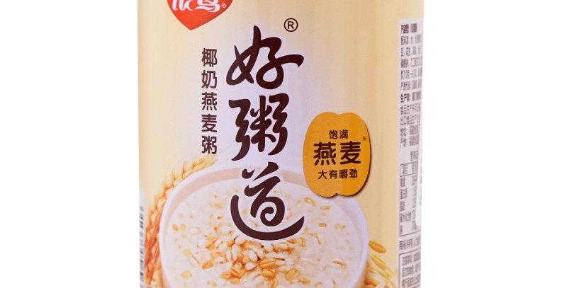 银鹭 养颜椰奶燕麦粥 280g x 12罐