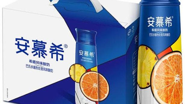 安慕希高端畅饮橙肉凤梨(10瓶)