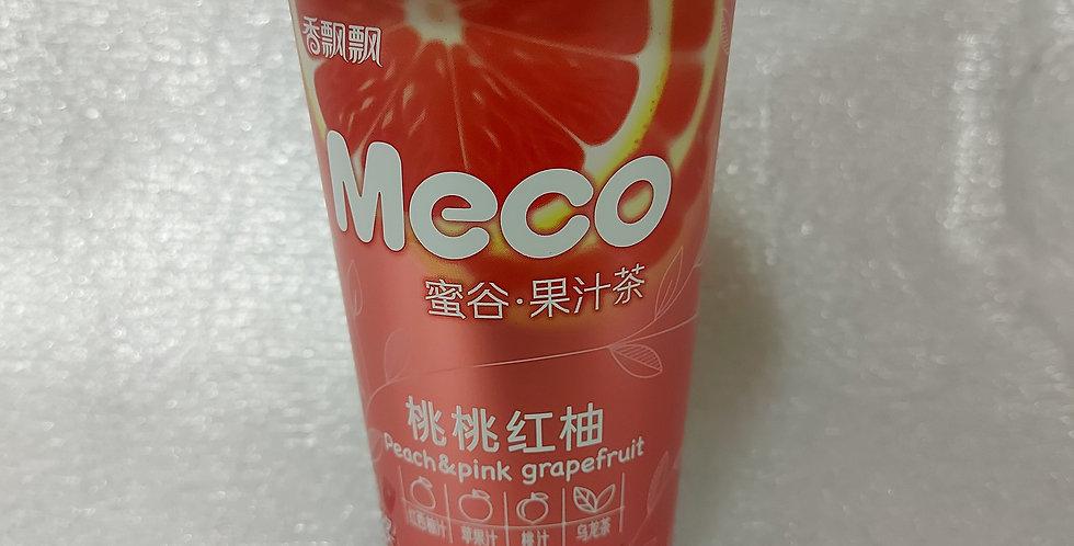 香飘飘 蜜谷 桃桃红柚味 400ml