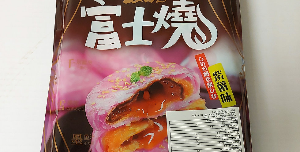 3Q 富士烧蛋黄酥 紫薯味 6枚装