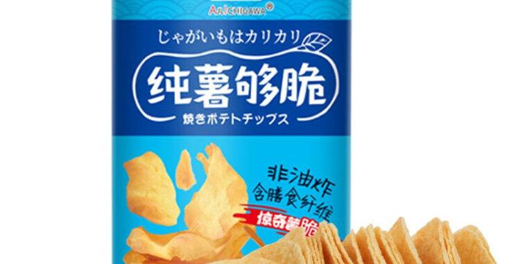 优之良品 纯薯够脆 地中海盐味 110g