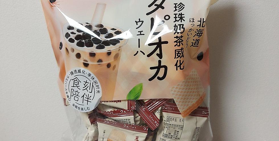 雅吻 威化饼干 珍珠奶茶味 150g
