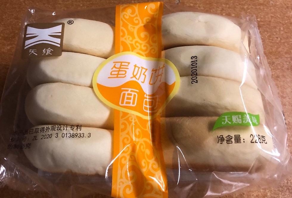 天飨 蛋奶饼面包 228g