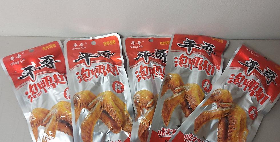 平哥泡鸭翅 辣味 36g X 5袋