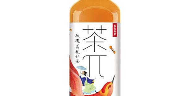 茶π 玫瑰荔枝茶 500ml