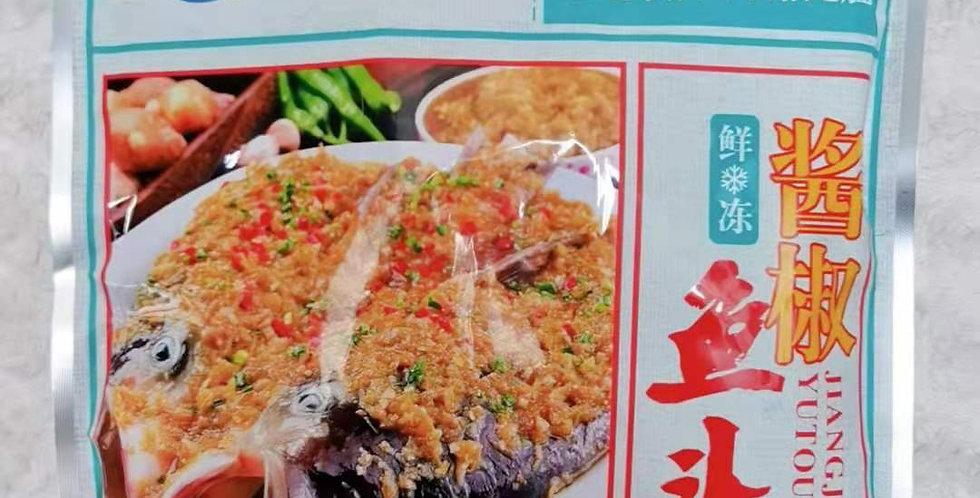 湘吉鑫 鲜冻 酱椒鱼头  600g