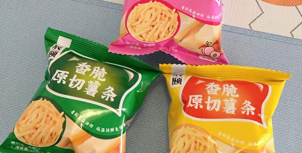 辰颐 香脆原切薯条 20g
