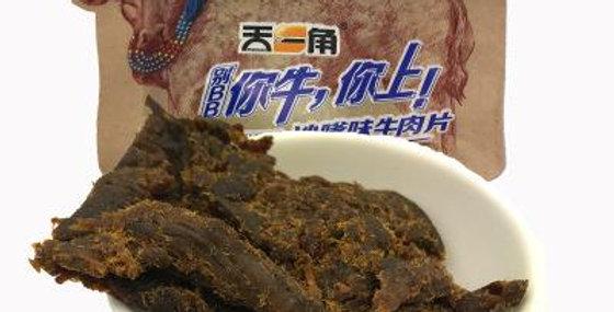 天一角 沙嗲牛肉干 25g*3袋