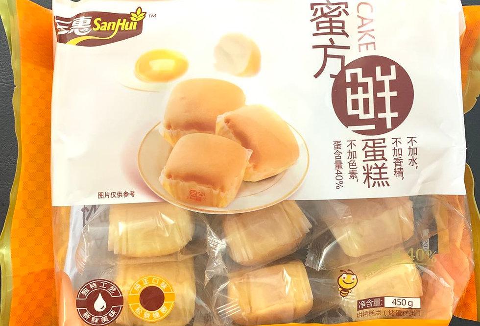 三惠 蜜方鲜蛋糕 12枚入