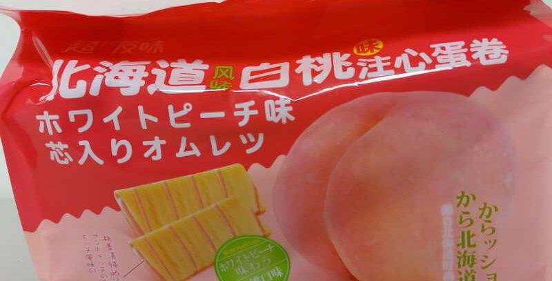 超友味 北海道注心蛋糕 白桃味 258g