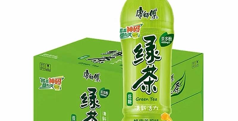 康师傅 绿茶 整箱装15瓶