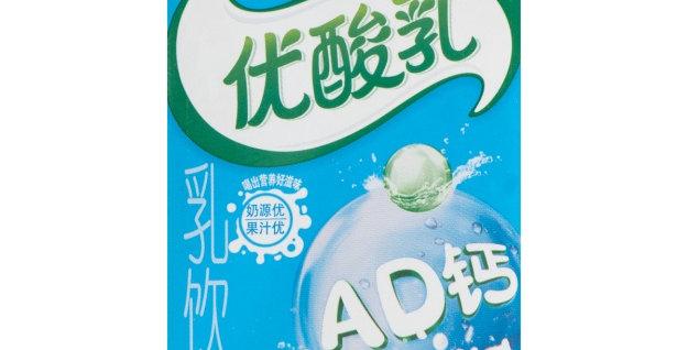伊利 优酸乳 AD钙奶味 24盒入