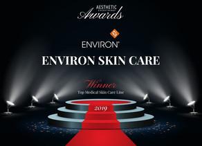 Environ wins Aesthetic Everything award