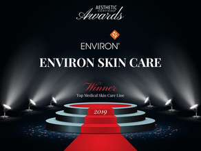Environ wins Aesthetic Everything award