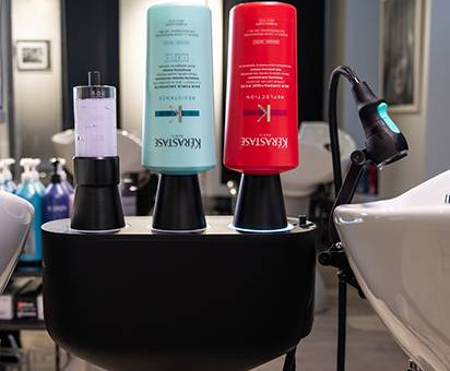 Responsible water use in salons