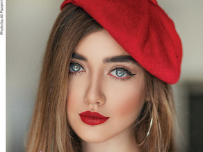 Red lips most hash-tagged make-up look on Instagram
