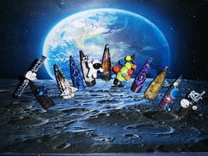 Cindy Visagie wins Space Age nail comp