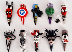 Ané Snyman wins NailFile 'Superheroes' competition