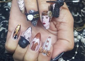 Juanita Bester wins 'Roaring 20s' nail competition