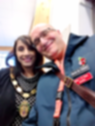 Braunstone Town Mayor Parminder Basra an