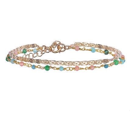 Bracelet Fanette multicolore