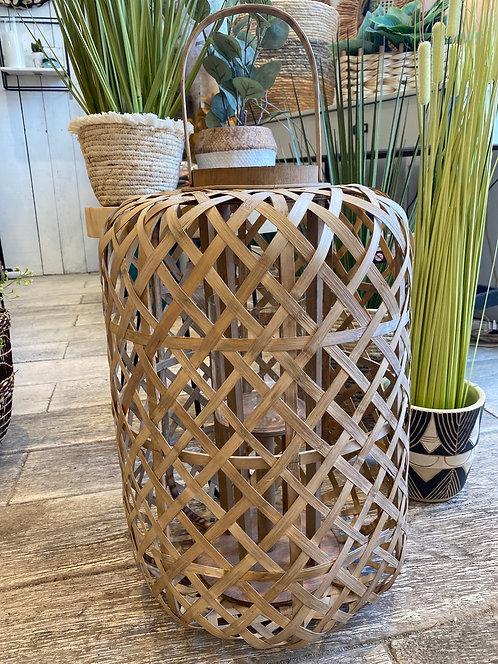 Lanterne garden en bambou
