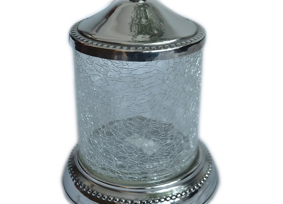 ST. PIERRE SAXONY COTTON CANISTER