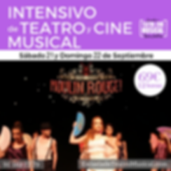 INTENSIVO MOULIN ROUGE 2019 21-22 septie