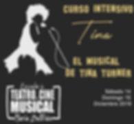 Intensivo Teatro Musical Tina banner cut