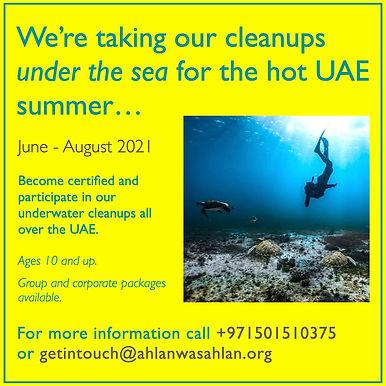 Underwater Cleanups