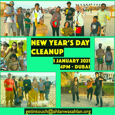 New Year's Day Cleanup