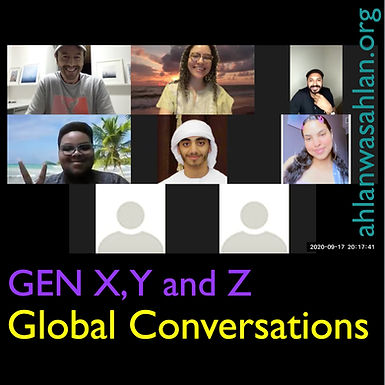 Gen X, Y and Z Global Conversations (Ongoing)