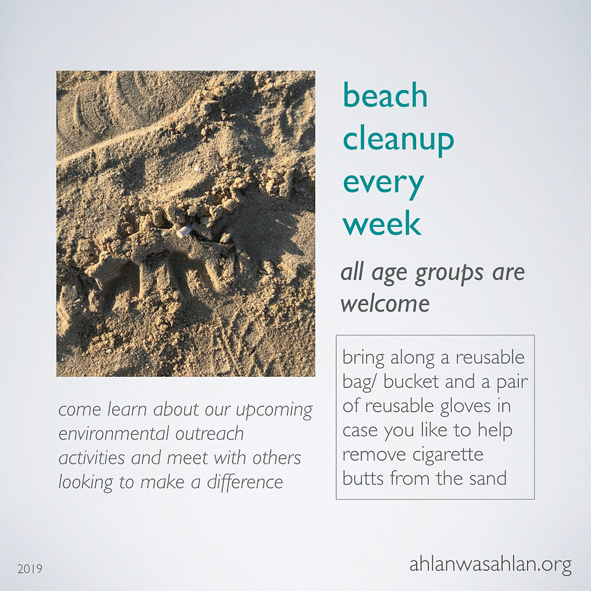 Beach Cleanup - Dubai